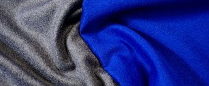 Double-Face - grau/blau