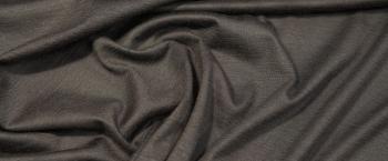 Kaschmirjersey - dunkelbraun