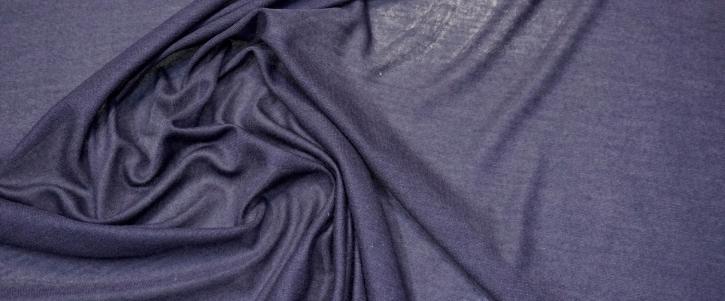 dünner Kaschmirjersey - dunkelblau