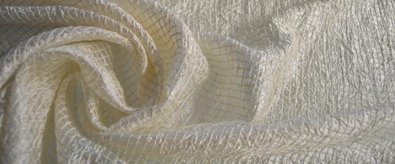 Seidenmischung - elfenbein