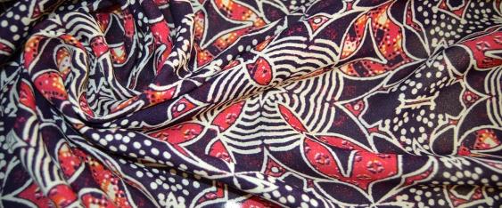 Seide - ornamentales Muster