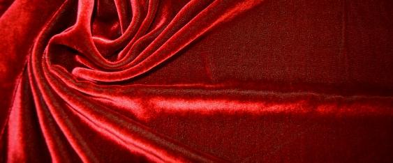 Pannesamt - rot