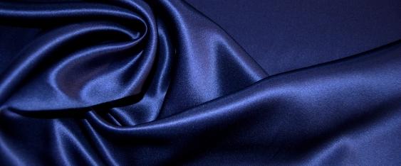 Satin - nachtblau