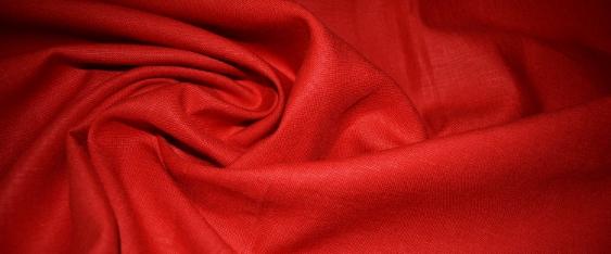 Leinen, rot - Hosenqualität