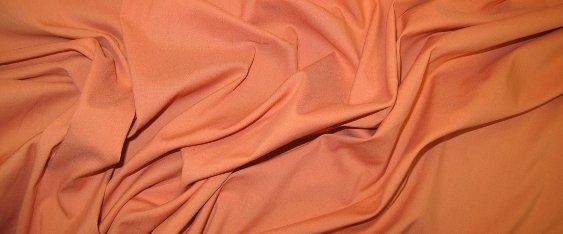 Baumwollstretch - apricot