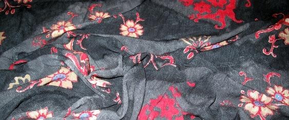 Coupon Crinkle-Ware Blütenmotiv