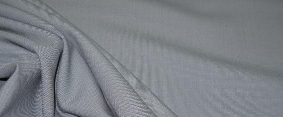 Schurwolle - grau Stretch