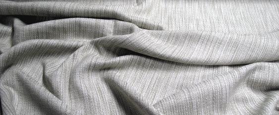 Baumwollmischung - dezent gestreift