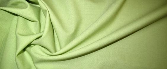 Schurwollstretch in gelb/grün