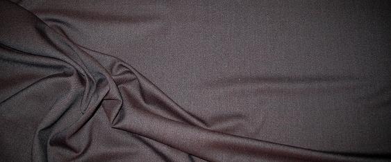Schurwolle - braun/schwarz