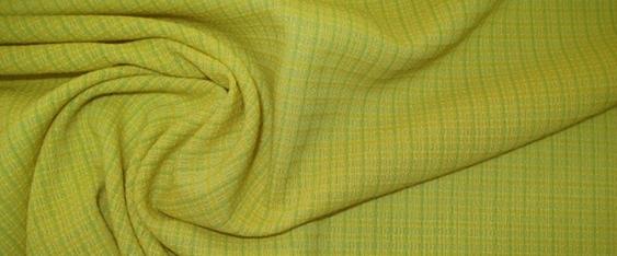 Schurwolle - gelb