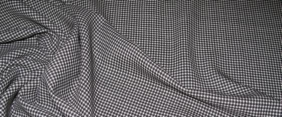 Schurwolle, schwarz-weiß
