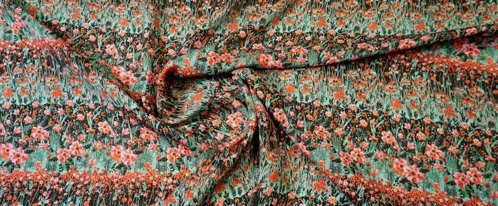 Seidencrepe - Blumenwiese
