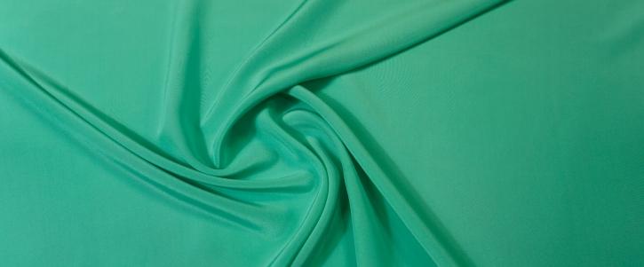 Seidencrepe - seegrün