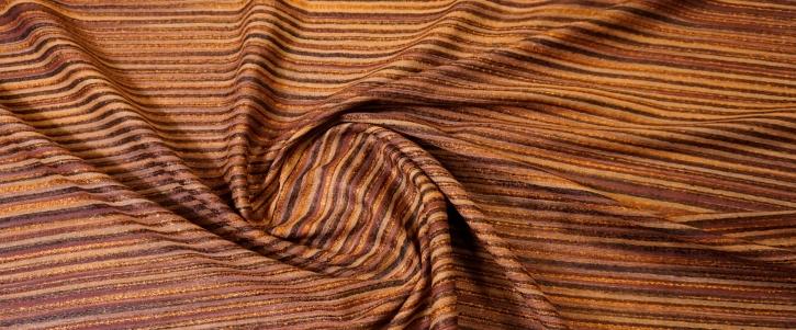 grob gewebte Seide - Kupfertöne