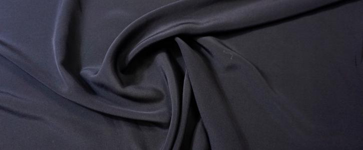 Seidencrepe - dunkelblau