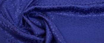 Seidenjacquard - königsblau