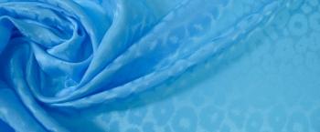 Jacquard - himmelblau
