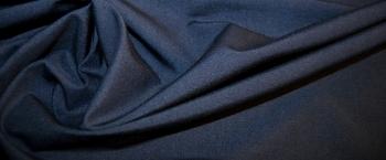 Kostümseide - nachtblau