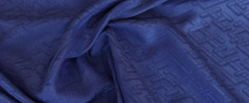 Jacquard - dunkelblau