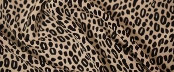 Seide - Leopardenprint