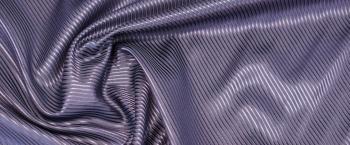 Seidenjacquard - dunkles violett