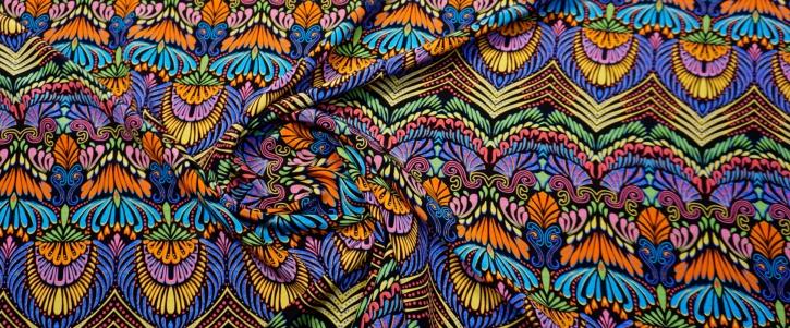 Seide - Ethno Muster