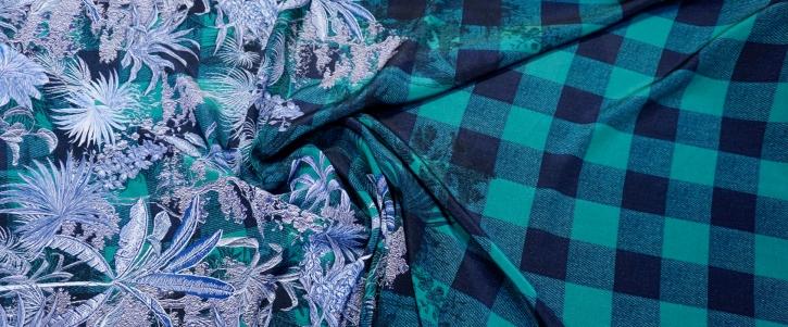 Dior - Palmen auf Karo