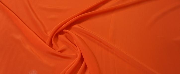 Rest, Seide - orangerot