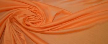 feiner Seidenjersey - orange