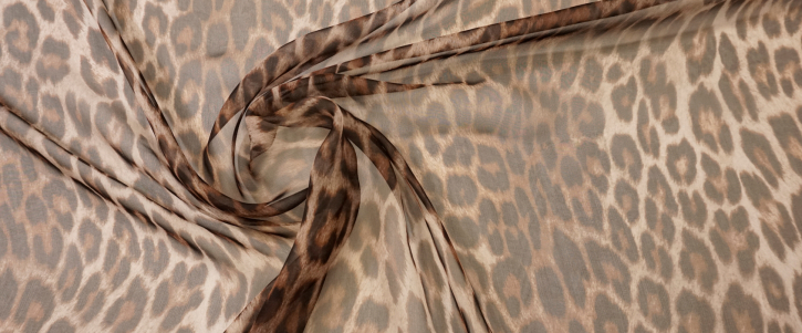 Rest Chiffon - animalprint