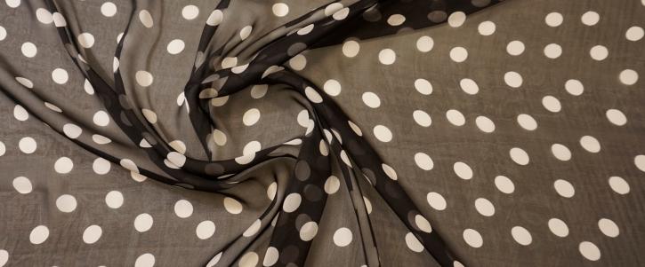 Chiffon - polka dots
