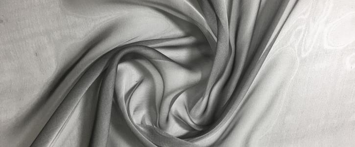 changierender Chiffon - schwarz/weiß