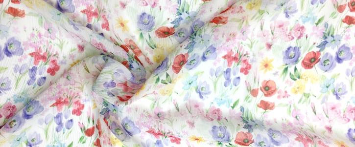 Chiffon - Wildblumen