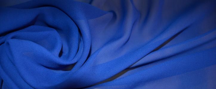 Chiffon - königsblau