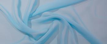 Chiffon - blaues türkis