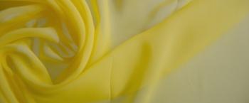 Rest Chiffon - gelb
