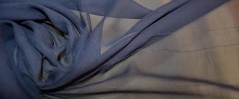 Chiffon - graublau