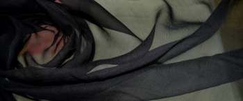 Chiffon - schwarz