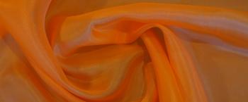 Seidenpongé - orange