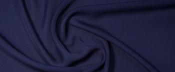 Seidenchiffon - dunkelblau