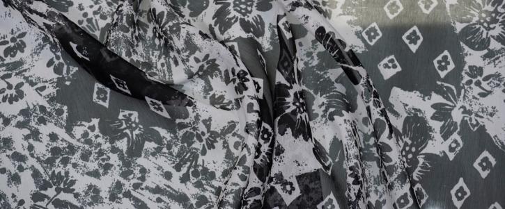 Rest Dior - schwarz mit weiß