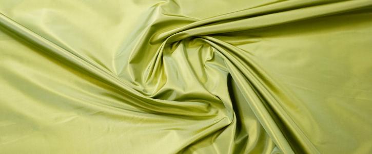Seidentaft - grün/gelb