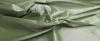 Dupionseide - helles grasgrün