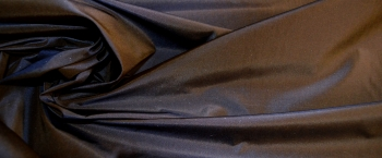 Taft - braun-blau