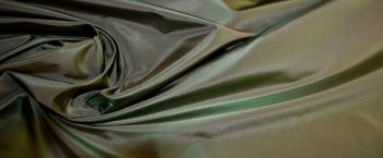 Taft - hellbraun und grasgrün