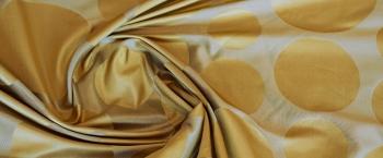 Seide - goldener Jacquard
