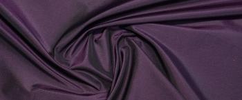 changierender Taft - schwarz/lila