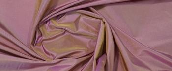 changierender Taft - lila und gelb