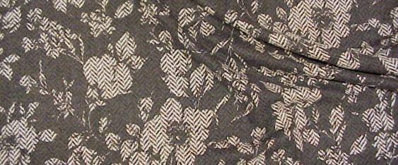 Rest Schurwolle in schwarz/weiß